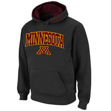 Stadium Athletic Minnesota Golden Gophers Charcoal Arch & Logo Pullover Hoodie