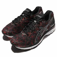 Asics Gel-Kayano 23 Black Silver Mens Running Shoes Sneakers Trainers T6A0N-2390