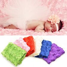 1 X Photo Props for Newborn Baby Photography Photo Props 3D rose Flower