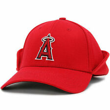 New Era Los Angeles Angels of Anaheim Red Downflap 39THIRTY Flex Hat