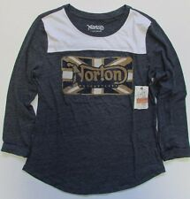 NWT Lucky Brand  T-Shirt Graphic Tee Norton Motorcycles Sz S M XL