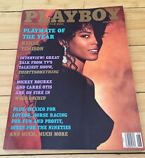 Playboy Magazine June 1990 Playmate Of The Year Renee Tenison