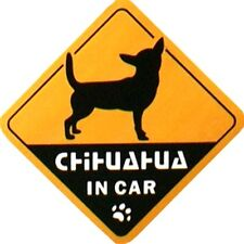 Chihuahua Dog Pet Vinyl Auto Decal Car Truck Vehicle Window Sticker Label