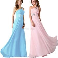 Sexy Women Long Maxi Chiffon Gown Party Evening Formal Cocktail Bridesmaid Dress