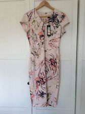 Marks And Spencer Fitted Dress Size 10 With Tags Wedding Evening Dress