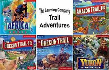 Age 10+ TRAIL ADVENTURES Edutainment Software PC Windows NEW Factory Sealed