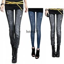 NEW Sexy Women Jeans Skinny Jeggings Stretchy Slim Leggings Skinny Pants 8HOT