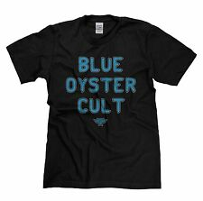 Mens Blue Oyster Cult 70s Classic Rock Music Tribute Band T-shirt
