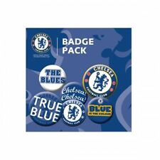 Chelsea FC Button Badge Set Football Soccer EPL