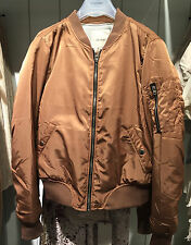 Pull&Bear BOMBER JACKET TERRACOTA S-XL ( ZARA GROUP )REF.  9710/325