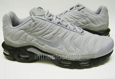 Nike Air Max Plus Quilted Tn Tuned 1 Flight Silver Grey Mens Trainers 806242