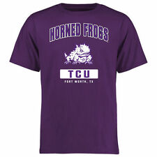 TCU Horned Frogs Purple Big & Tall Campus Icon T-Shirt