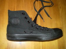 CONVERSE ALL STAR BLACK HIGH TOP TRAINING SHOES LADIES SIZE US 6 NEW