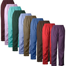 MedGear Unisex Elastic Scrubs Pants 802, Medical Uniform Pants, Various Colors