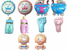 Baby Shower Boy Girl Foil Balloons Birthday Giant Christening Party Decorations