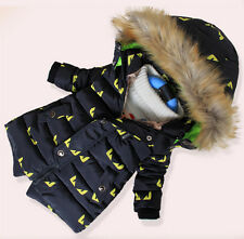 New children's clothing boys thick coat jacket children jacket and long sections