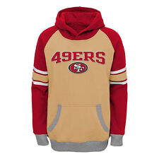 San Francisco 49ers Youth Gold/Scarlet Fan Gear Robust Pullover Hoodie