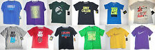 Nike Boys T-Shirts Various Colors, Patterns and Sizes NWT