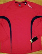 Soccer Top Field Red Crew LS Top Diadora Men size Large and XL  New