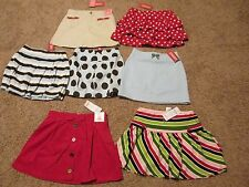 U Pk GYMBOREE SKORT SKIRT PUPS AND KISSES GIRLS BEST FRIEND POPPY LOVE 7 8 9 10