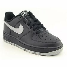 Nike AIR FORCE 1 (GS) Youth 314192 023 Boys Black Classic Retro Sneakers Shoes