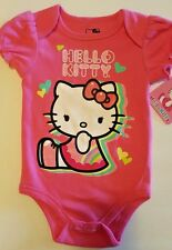 INFANT/BABY GIRLS HELLO KITTY ONE PIECE CREEPER   SIZES 3-6  &  6-9 MONTHS  NWT