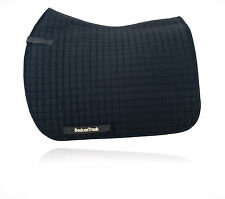 Back On Track Equine Dressage Saddle Pad DOUBLE PACK Black,White or Brown