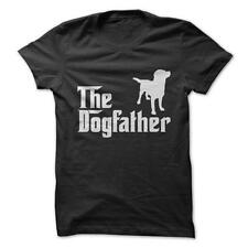 Dogfather Rottweiler -Rottweiler Dogs Funny T-Shirt Short Sleeve 100% Cotton NEW