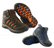 Mens Outdoor Leather Climbing Hiking Sports Running Football Athletic Shoes