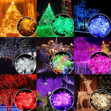 Colorful 100 LED 100M String Christmas Fairy Lights Tree Party Wedding Xmas Lamp