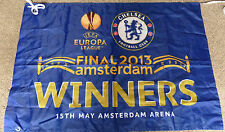 CHELSEA UEFA EUROPA LEAGUE WINNERS 2013 FLAG - BRAND NEW WITH TAGS