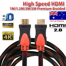 4K 1080 Ultra HD Premium HDMI Cable V2.0 3D Digital High Speed 1m ~ 5m
