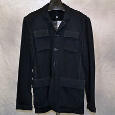 JOHN VARVATOS STAR USA Knit Jacket Marine New NWT $269 Men's L or XL
