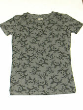 Bone Collector BC Grey Charcoal Burnout Fitted T-Shirt Small Medium Large G