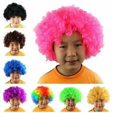Halloween Afro Clown Curly Circus Hair Xmas Fancy Dress Wigs Party Disco Costume