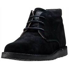Hush Puppies Barricane Heritage Collection Mens Chukka Boots Black New Shoes