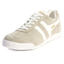 Gola Harrier Mens Trainers Grey White New Shoes