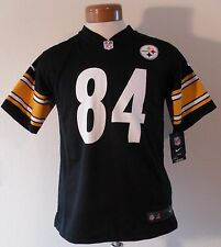 NWT Nike Antonio Brown Pittsburgh Steelers #84 Youth Home Jersey S-XL Black $70