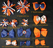 Chicago Bears Themed Hair Bows Korkers Classic Bottle Caps U-Pick