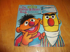 The Ernie and Bert Book A Golden Shape Book VTG SC 1977 Sesame Street Muppets