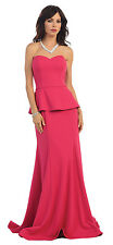 TheDressOutlet Formal Dresses Sweetheart Fitted Stretchy Fabric Evening Gown