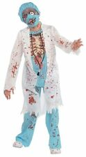 SALE Kids Zombie Surgeon Doctor Boys Halloween Fancy Dress Childs Costume Outfit