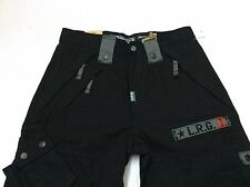 "New LIFTED RESEARCH GROUP (L-R-G) ""THE APOCALYPSE"" CARGO PANT C47 FIT BLACK"