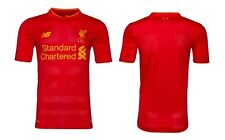 Liverpool FC 2017 New Balance Home Jersey Sizes S-2XL! EPL Football Soccer!