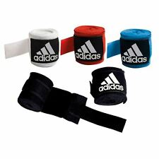 Adidas Cotton Bandages Wrist Hand Wraps Muay Thai Boxing MMA 2.55m All Colours