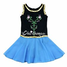 Kids Girls Princess Tutu Ballet Dance Leotard Dress Fancy   Halloween Costume
