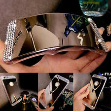Luxury TPU Ultra-thin Mirror Crystal Metal Case Cover For Apple IPhone 6s 7+