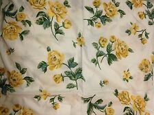 Country Yellow Rose Garden Springtime Floral Microfiber Sheet Set Twin
