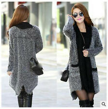 spring autumn Korean fashion loose cardigan mohair Ms. knitting sweater coat