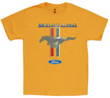 Men's t-shirt Ford Mustang shirts for men ford mustang pony tee yellow shirt